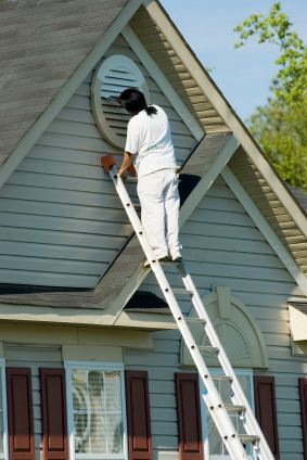 Exterior Painting being performed by an experienced Farra Painting painter.
