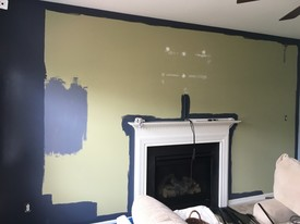 Accent walls are in Upper Chichester