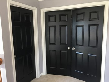 New Contemporary Look for Interior Hall Doors in West Grove, PA